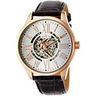 Men's 22569 Vintage Analog Display Automatic Self Wind Brown/Rose GoldWatch