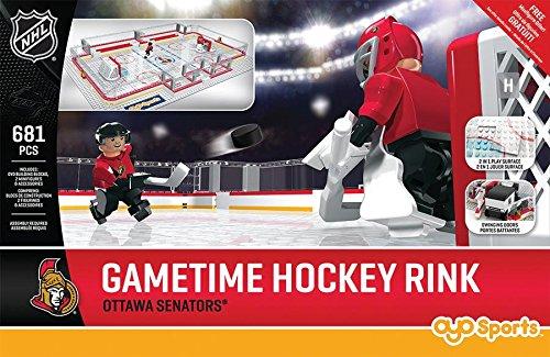 NHL Ottawa Senators Full Rink Set, Small, Black