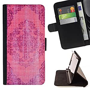 For Sony Xperia Z3 Plus / Z3+ / Sony E6553 (Not Z3) Case , Violet - la tarjeta de Crédito Slots PU Funda de cuero Monedero caso cubierta de piel