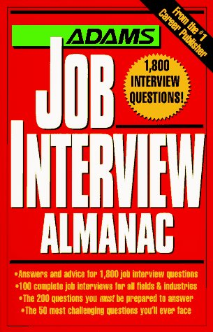 Adams Job Interview Almanac