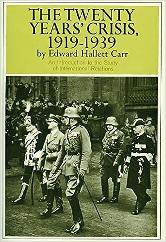 Amazon com: The Twenty Years' Crisis, 1919-1939: An