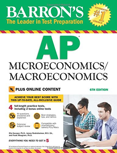 Barron's AP Microeconomics/Macroeconomics, 6th Edition: with Bonus Online Tests cover