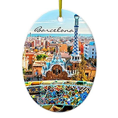 Amazon.com: Barcelona España Park PARC Guell - Figura ...
