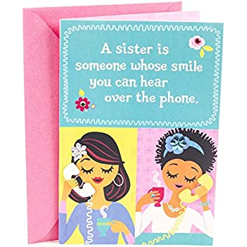 Hallmark Mahogany Birthday Card For Sister Favorite People