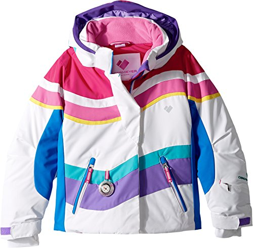 Obermeyer Kids Baby Girl's North-Star Jacket (Toddler/Little Kids/Big Kids) White 3T by Obermeyer Kids