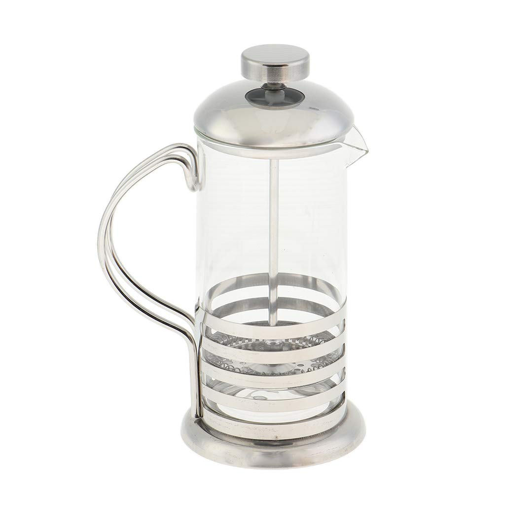 Style 1 Flameer French Press Cafetiere Coffee Tea Maker Coffeepot Tea Coffee Pot Server Heat Resistant Borosilicate Glass