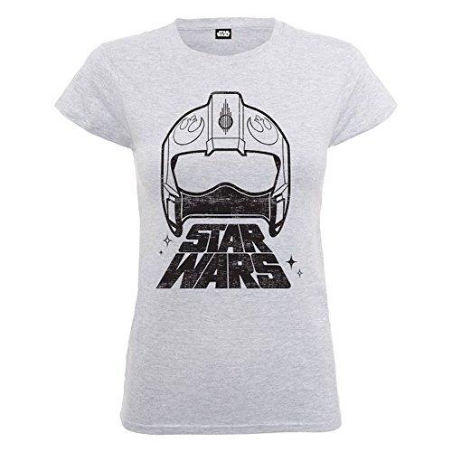 Star Wars -EL Despertar DE LA Fuerza X-Wing Fighter Casco - Oficial Mujer
