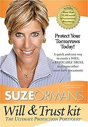 Suze Orman's Will & Trust Kit