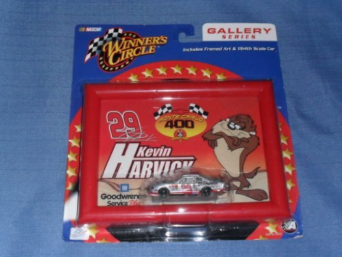 2002 NASCAR Winner's Circle . . . Kevin Harvick #29 GM Goodwrench TAZ Chevy Monte Carlo 1/64 Diecast . . . Framed Art . . . Gallery - Chevy Framed