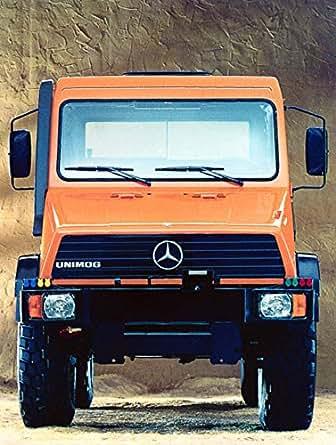Amazon.com: 1993 Mercedes Benz Unimog Factory Photo: Entertainment