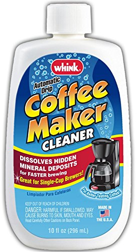 Whink Coffee Maker Cleaner 10 Ounce