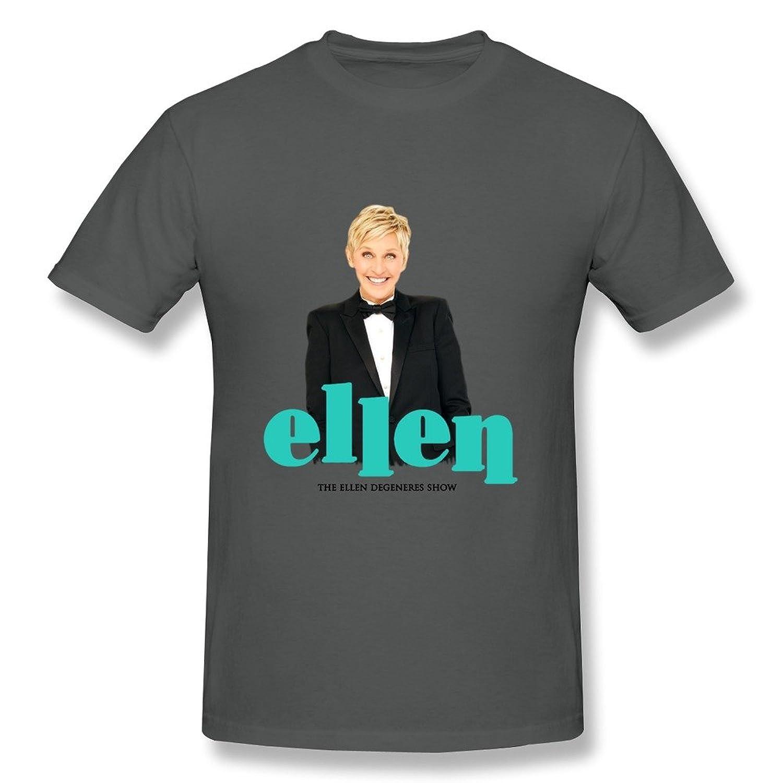 Jade Men's T-shirts-Cool Compere Ellen Grace Poster DeepHeather