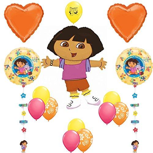 Dora the Explorer Party Supplies Birthday Party Supplies Balloon (Dora The Explorer Costumes Adult)