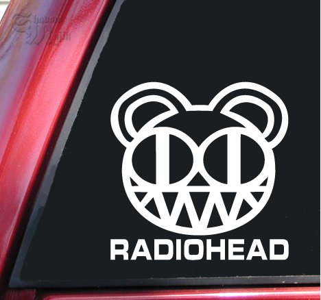 Windows Band Outdoor etc Sticker RadioHead Decal Vinyl Decal for Car Music