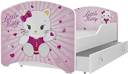 EUROTEL Eurolel Little Kitty Igor - Cama Infantil (80 x 160 ...