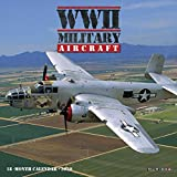 WWII Military Aircraft 2020 Mini Wall Calendar