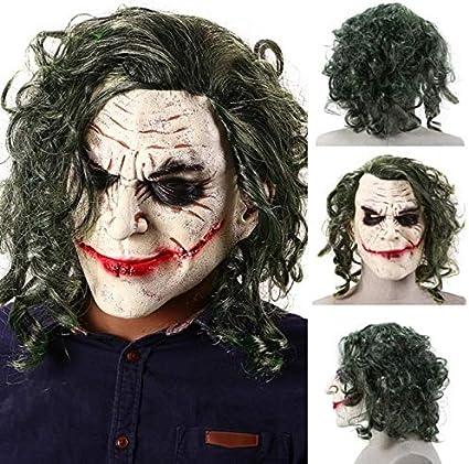 Máscara de Payaso de Brujo de Horror de Halloween Máscara de látex ...