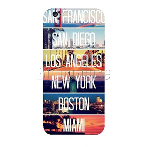COQUE PROTECTION TELEPHONE IPHONE 6 - VILLES ETATS UNIS NYC LOS ANGELES MIAMI