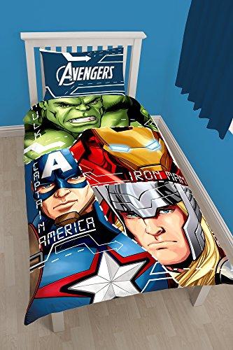 Reversible Single Duvet - Marvel Avengers Tech Reversible Single