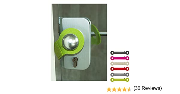 ebos Tope de Puerta ✓ Cinta de Fieltro ✓ Genuino el Fieltro - Protege la Puerta y los Dedos (Verde): Amazon.es: Juguetes y juegos