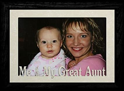 Amazon.com - 5x7 JUMBO ~ ME & MY GREAT AUNT Landscape Picture Frame ...