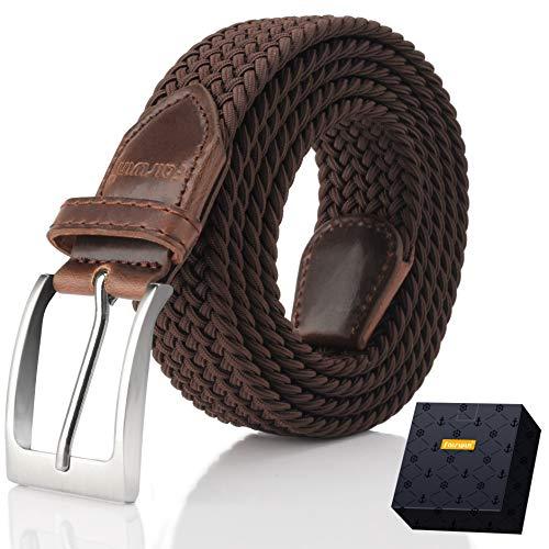 , Fairwin Enduring Stretch Woven Belt for Men/Women/Junior ()