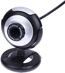Adjustable USB Webcam Camera for PC Laptop Class 360 Degree with Mic Night Vision Web Cam