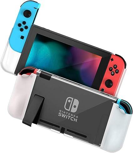 Zecti [Actualizado] Estuche protector para Nintendo Switch, PC+TPU ...