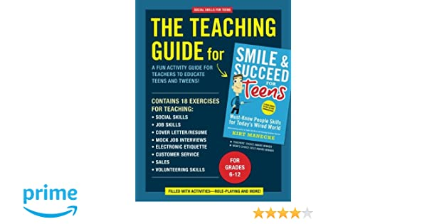Amazon.com: Social Skills for Teens: The Teaching Guide for Smile ...