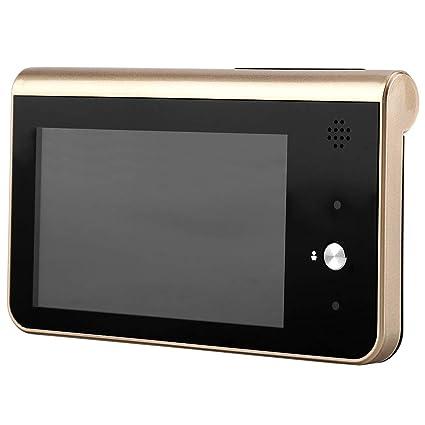 WiFi De 4.3 Timbre de Video de Mirilla Detección de Monitor de Teléfono HD en Hogar