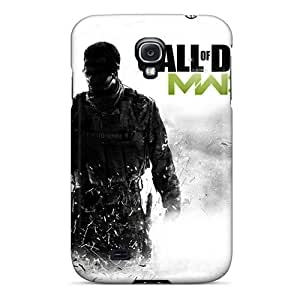 Galaxy S4 Hard Back With Bumper Silicone Gel Tpu Case Cover Mw3