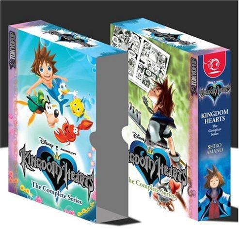 Kingdom Hearts Boxed Set--vols 1-4 (v. 1-4)