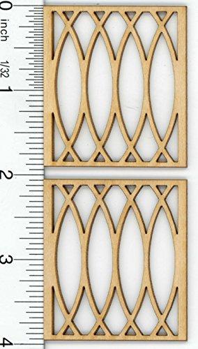 Dollhouse Miniature Window Mullion