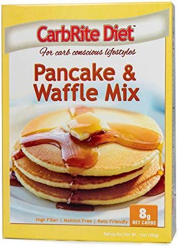 CarbRite Pancake & Waffle Mix
