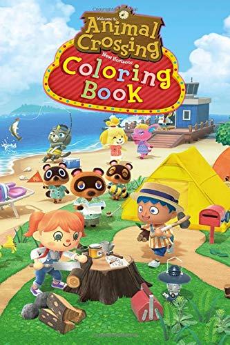 Amazon Com Animal Crossing New Horizons Coloring Book Coloring Pages For Animal Crossing Game 9798638042462 Coloring Boulnissal Books