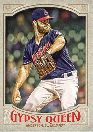 (2016 Topps Gypsy Queen Baseball #204 Cody Anderson Cleveland Indians )