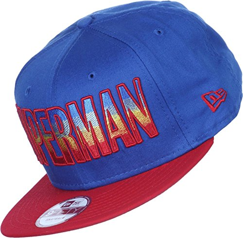 New Era x DC Comics - Casquette Snapback Homme 9Fifty Hero Fade Superman - Blue / Red