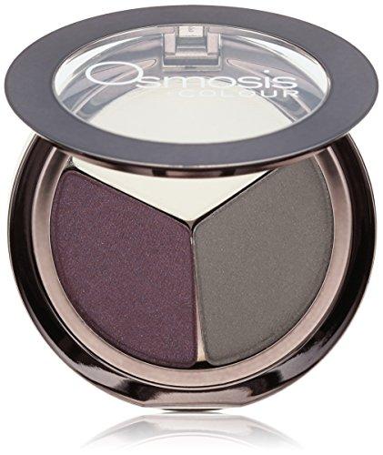 Osmosis Skincare Eye Shadow Trio, Aubergine