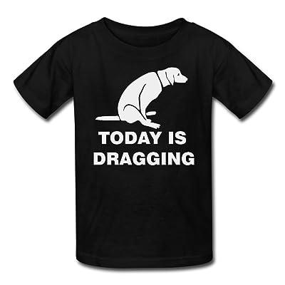 Hailin Tattoo Boys Girls Tshirt Today Is dragging Original Plus Size Tshirt Fashion Couple Tees