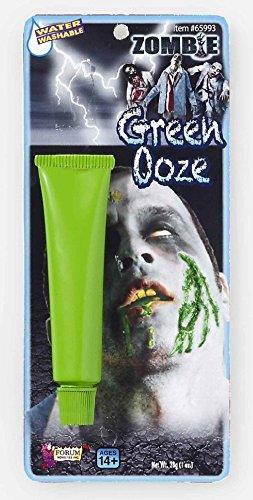 Zombie Face Green Ooze Blood Biohazard Costume Makeup