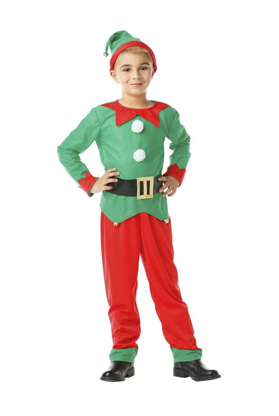 Kimokawaii Disfraz Elfo Talla 10-12 AÑOS TAMAÑO Infantil: Amazon ...