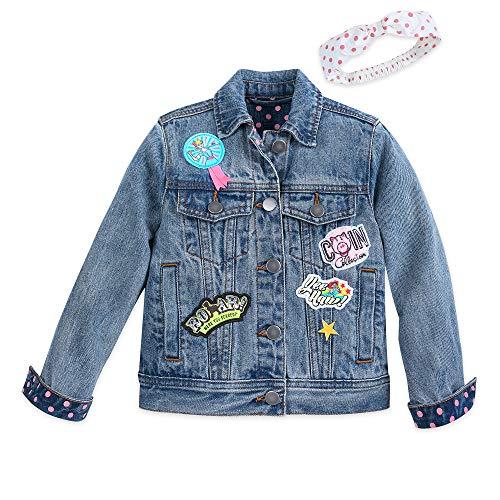 Disney Toy Story 4 Denim Jacket and Headband for Girls Size 3 ()