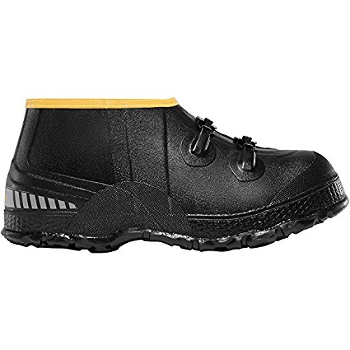 "Lacrosse ZXT Buckle Wedge Overshoe 5"" Black (267110) 
