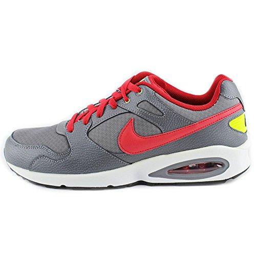 Nike Air Max Coliseum Racer Heren Hardloopschoenen 555423 006 Sneakers Schoenen Cool Grijs Universiteit Rood