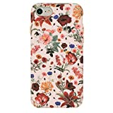 Velvet Caviar for iPhone 8 Case & iPhone 7 Case Floral Flower - Protective Cover - Cute Phone Cases for Girls & Women [Drop Test Certified] (Pink Nude Vintage)