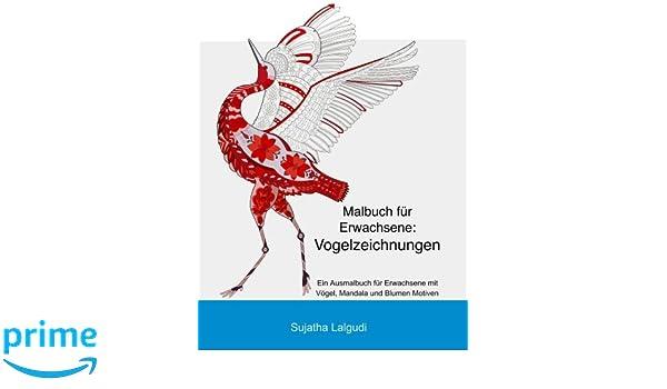 Malbuch Fur Erwachsene Vogelzeichnungen Mandalas Ausmalbuch