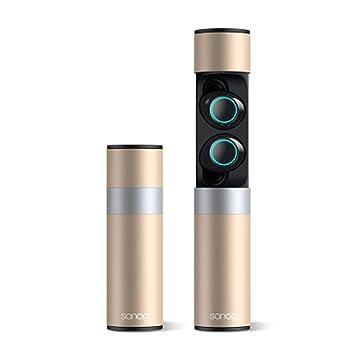 SELCNG - Auriculares inalámbricos con micrófono y cargador ...