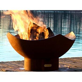 Amazon Com Third Rock Fire Pit Fire Pit Globe Garden