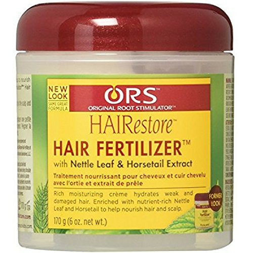 Organic Root Stimulator Hair Fertilizer, 6 oz ( Pack of 2)