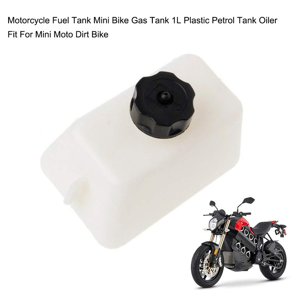 KKmoon Plástico 1L Tanque de Combustible Motocicleta, Mini ...